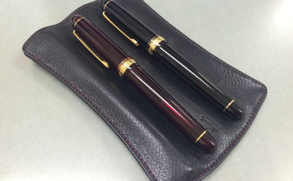 NAGASAWA PenStyle 3本差し キップレザー ペンケース Lサイズを購入しました。