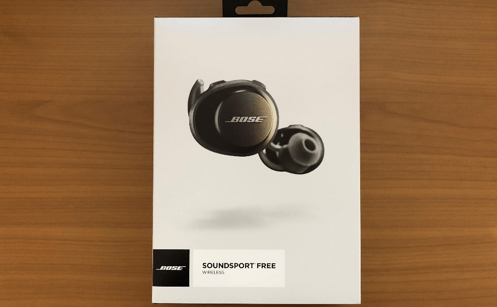 BOSE SoundSport Free wireless headphonesを購入!